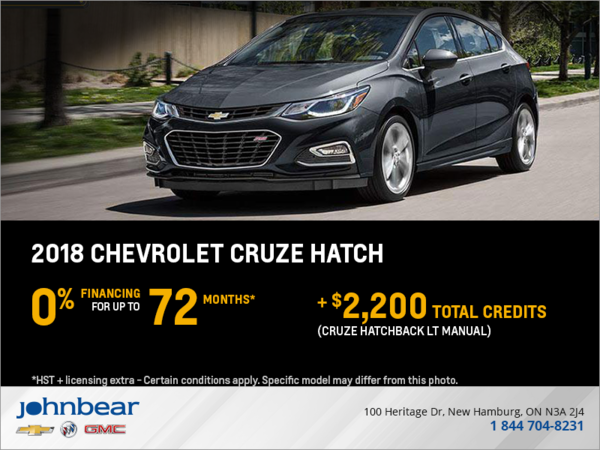 2018 Chevrolet Cruze Hatch LT
