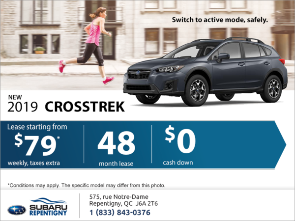 Get the all-new 2019 Crosstrek today!