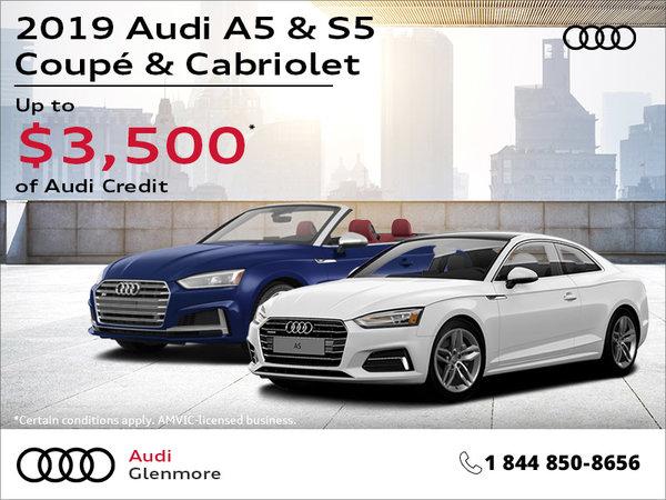 2019 Audi A5 & S5