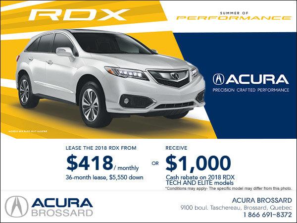 Lease the 2017 Acura RDX