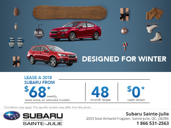 Save on a New Subaru!