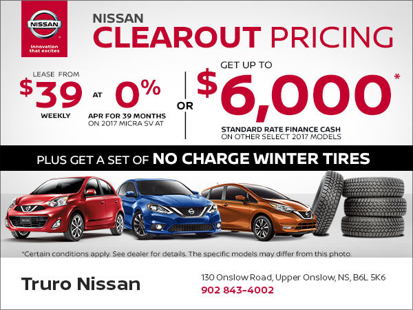 Nissan's Clearout Pricing