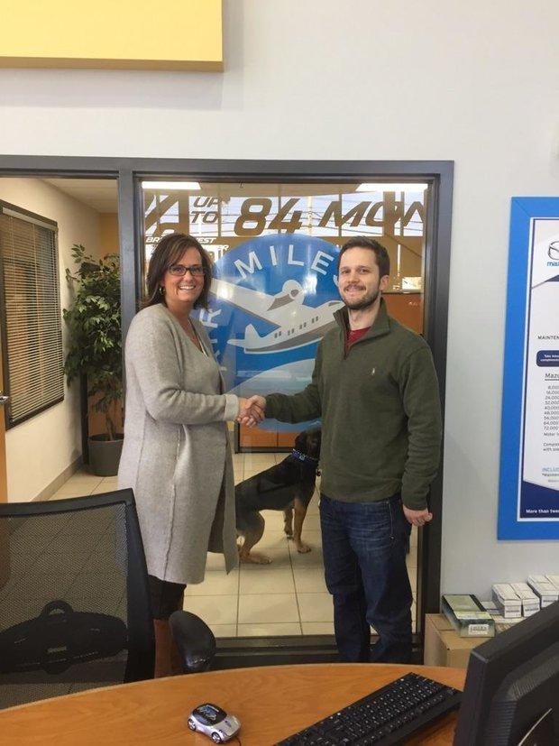 5000 Air Miles winner for September