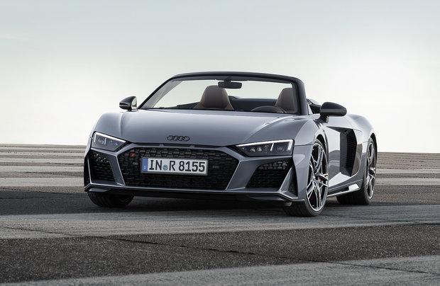 The 2019 Audi R8 shines even brighter
