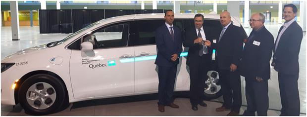 Le gouvernement du Québec se procure des Chrysler Pacifica