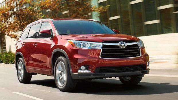 2015 Toyota Highlander: Seven-passenger luxury