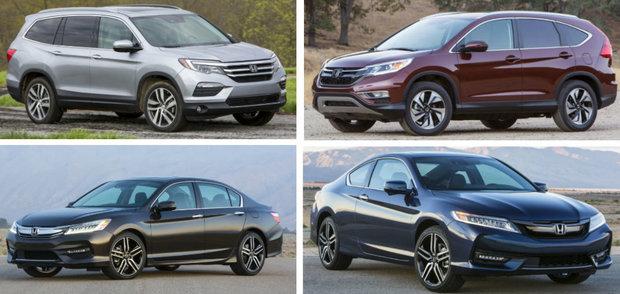 Un gain de 9,0 % pour les ventes Honda en avril