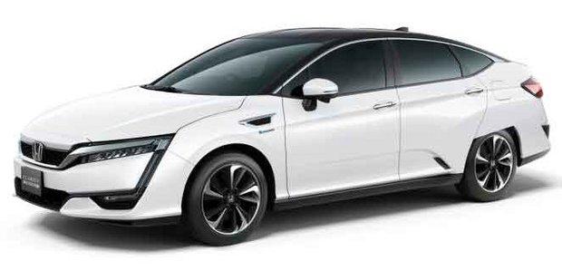 La toute nouvelle Honda Clarity à moteur hybride rechargeable arrive en 2017