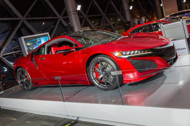 Ottawa Auto Show 2017: 2017 Acura NSX