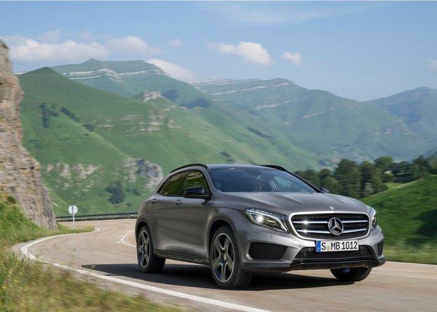 2015 Mercedes-Benz GLA-Class, urban sports car meets rugged off-road SUV