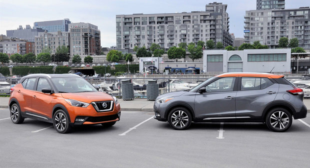 Nissan Kicks 2019 vs Ford EcoSport