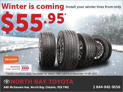 Winter is Coming - Change Your Tires!