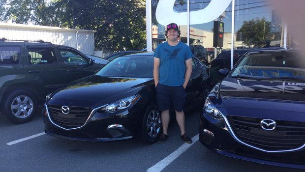 Cody's New 2016 Mazda 3!