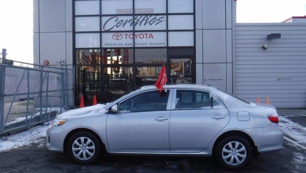 Toyota Corolla GROUPE ELECTRIQUE 2013