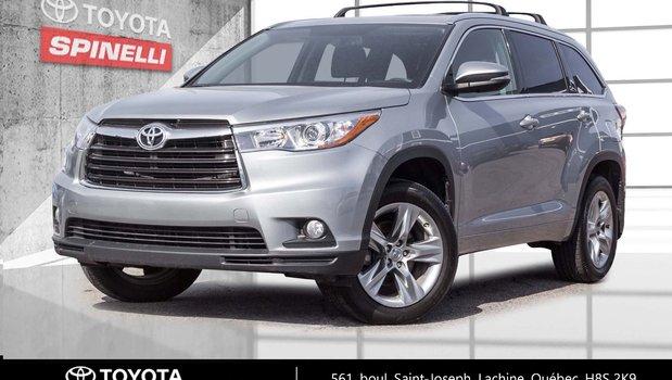 2015 Toyota Highlander TOIT OUVRANT+DETECTEUR ANGLE MORT
