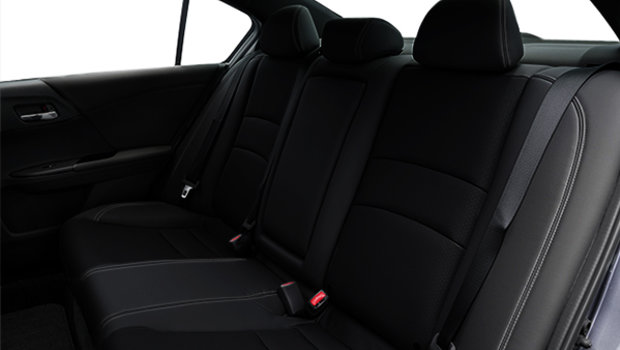 Black Leather/Fabric