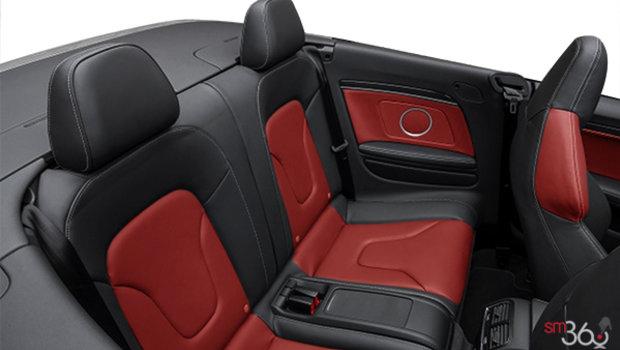 Magma Red/Black Fine Nappa Leather