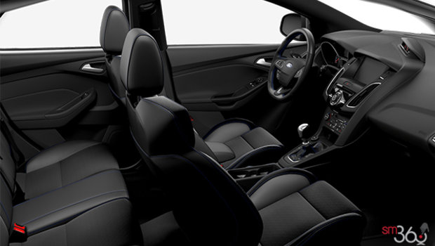 Charcoal Black/Ebony RECARO Leather