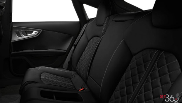 Black Valcona leather with S w/Dark Silver Stitching
