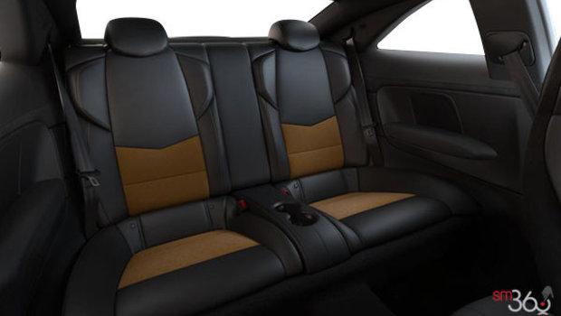 Cuir Recaro Noir jais/Safran (W2E-HG2) avec dossiers de sièges et empiècements en microfibre suédée