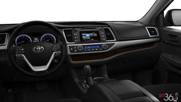 Toyota Highlander Le Awd Vus Tissu Noir Tableau De Bord on Toyota Highlander
