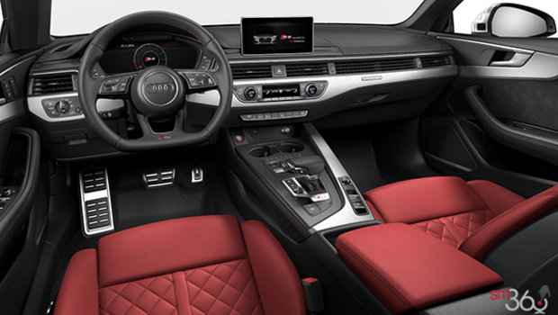 Magma Red/Granite Grey Leather
