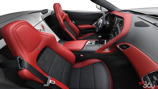 Sièges baquets GT en cuir avec empiècements en microfibre suédée rouge adrénaline (706-AQ9)