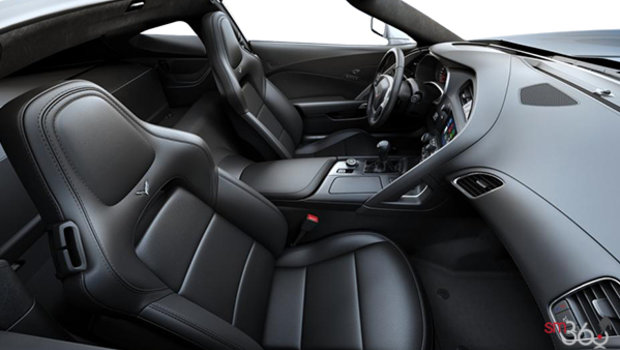 Jet Black GT buckets Perforated Mulan leather seating surfaces (191-AQ9)