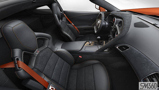 Orange Competition Sport buckets Leather seating surfaces with sueded microfiber inserts (000-AE4)