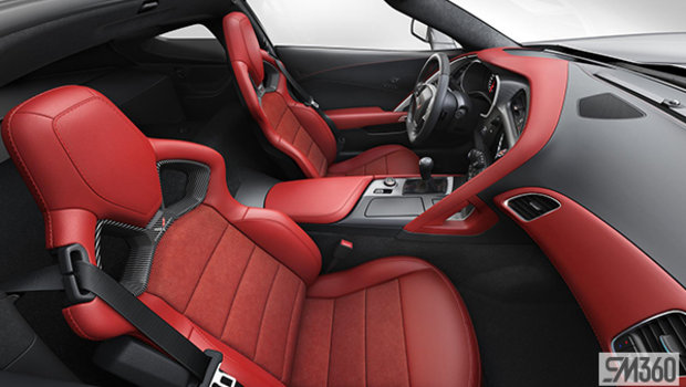 Adrenaline Red Competition Sport buckets Leather seating surfaces with sueded microfiber inserts (706-AE4)