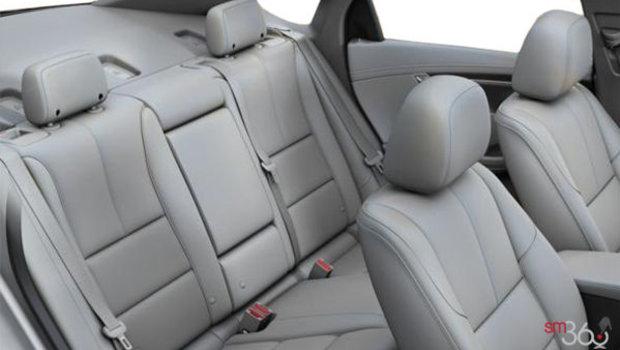 Dark Titanium/Jet Black Perforated Leather (HIQ-A51)