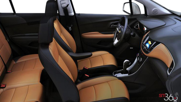 Jet Black/Brandy Bucket seats Leatherette (AEY-AR9)