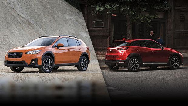 Subaru Crosstrek 2019 vs Mazda CX-3 2019 à Lachine