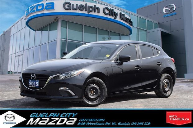 2015 Mazda Mazda3 Sport GS-SKY 7 YEAR 160,000 KM WARRANTY