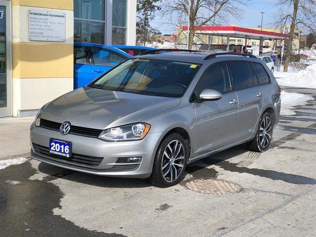 2016 Volkswagen Golf Sportwagon 1.8T Comfortline 6sp at w/Tip