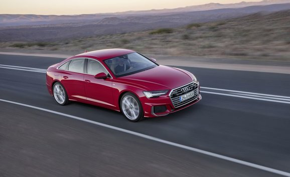 2019 Audi A6: Hello there, gorgeous