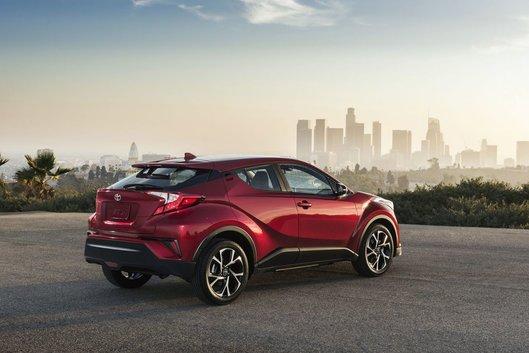 Nouveau VUS : voici le Toyota C-HR 2018
