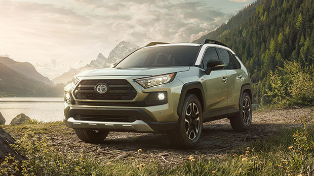 The all-new 2019 Toyota RAV4 available soon in Montreal