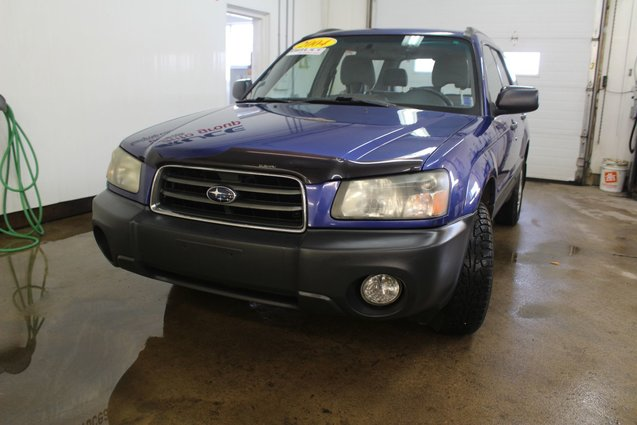2004 subaru forester x 2 5l 4 cyl automatic awd for sale pre owned bruce automotive group in. Black Bedroom Furniture Sets. Home Design Ideas