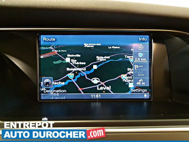 2015 Audi A4 Progressiv plus AWD NAVIGATION - A/C - Cuir