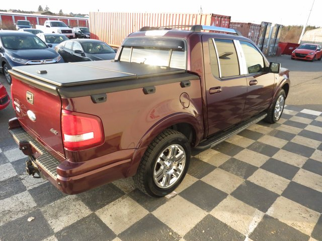 2008 ford explorer sport trac limited 46l 8 cyl automatic 4wd leather interior heated