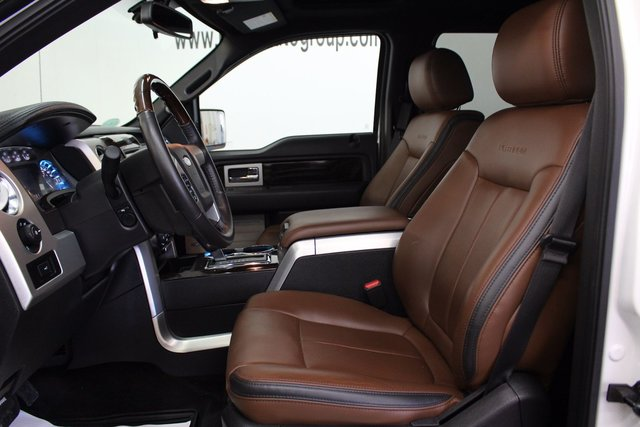 ... 2014 Ford F 150 PLATINUM 3.5L 6 CYL AUTOMATIC 4X4 SUPERCREW NAVIGATION,  LEATHER ...