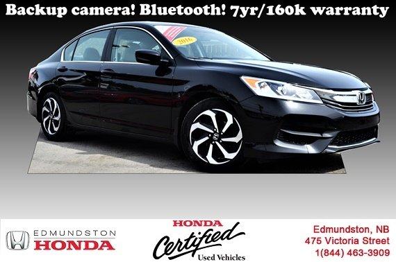 2016 Honda Accord Sedan LX Heated And Power Seats! Backup Camera! Bluetooth!