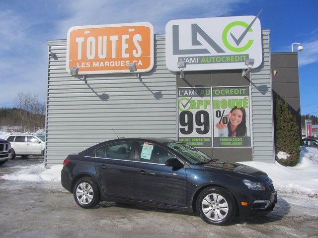 Chevrolet Cruze Limited LT 2016 CAMERA+TOIT !!!TRES PROPRE