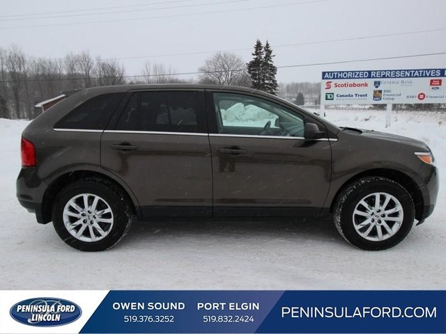 Ford Edge Limited Awd Nav Pano Roof No Accidents