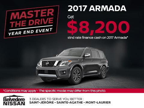 Save on the 2017 Armada!