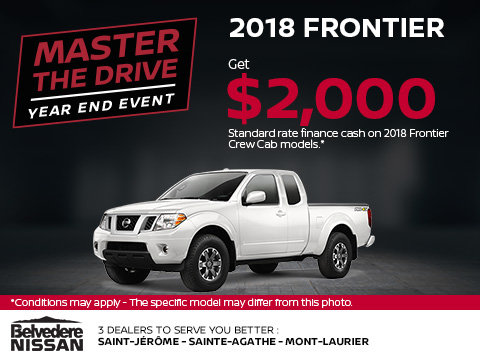 Save on the 2018 Frontier!