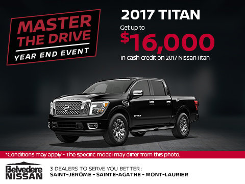 Save on the 2017 Titan Today!