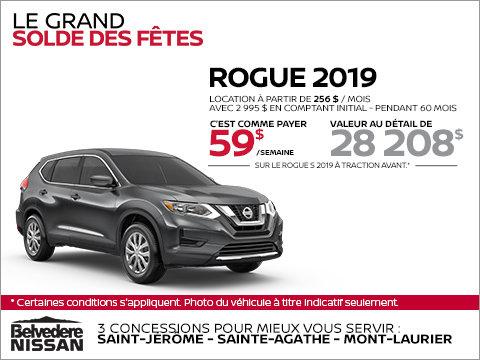 Le Nissan Rogue 2019!