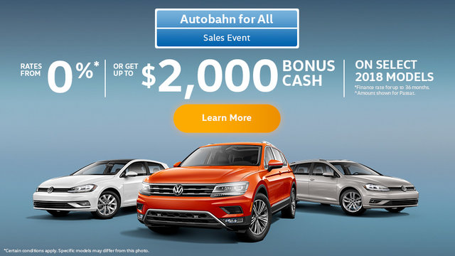 Autobahn for All Sales Event (Mobile)